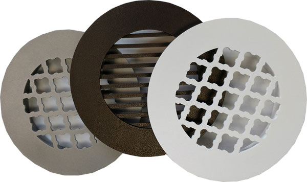 Return Air Vent Decorative Round Grilles