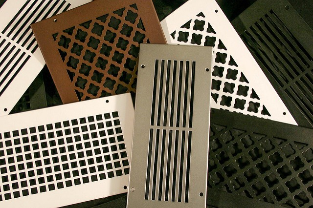 Decorative Wall Air Filter Grille | Bronze Series Return Vent