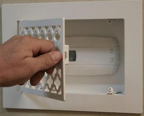 Steel Crest Control Panel Box