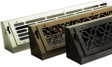 Silver Series Baseboard Register